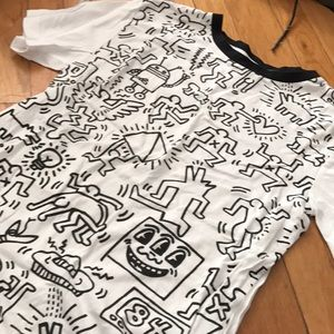 Other - never worn Keith haring graphic shirt men's xs